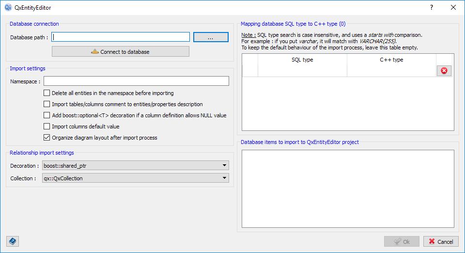 Import SQLite