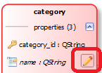 Property settings access